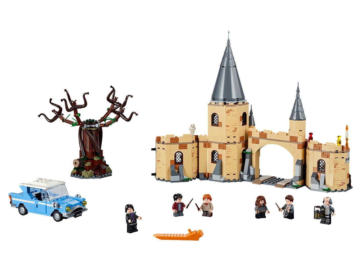 Le Saule Cogneur Du Château De Poudlard 75953 Harry Potter Boutique Lego Officielle Fr