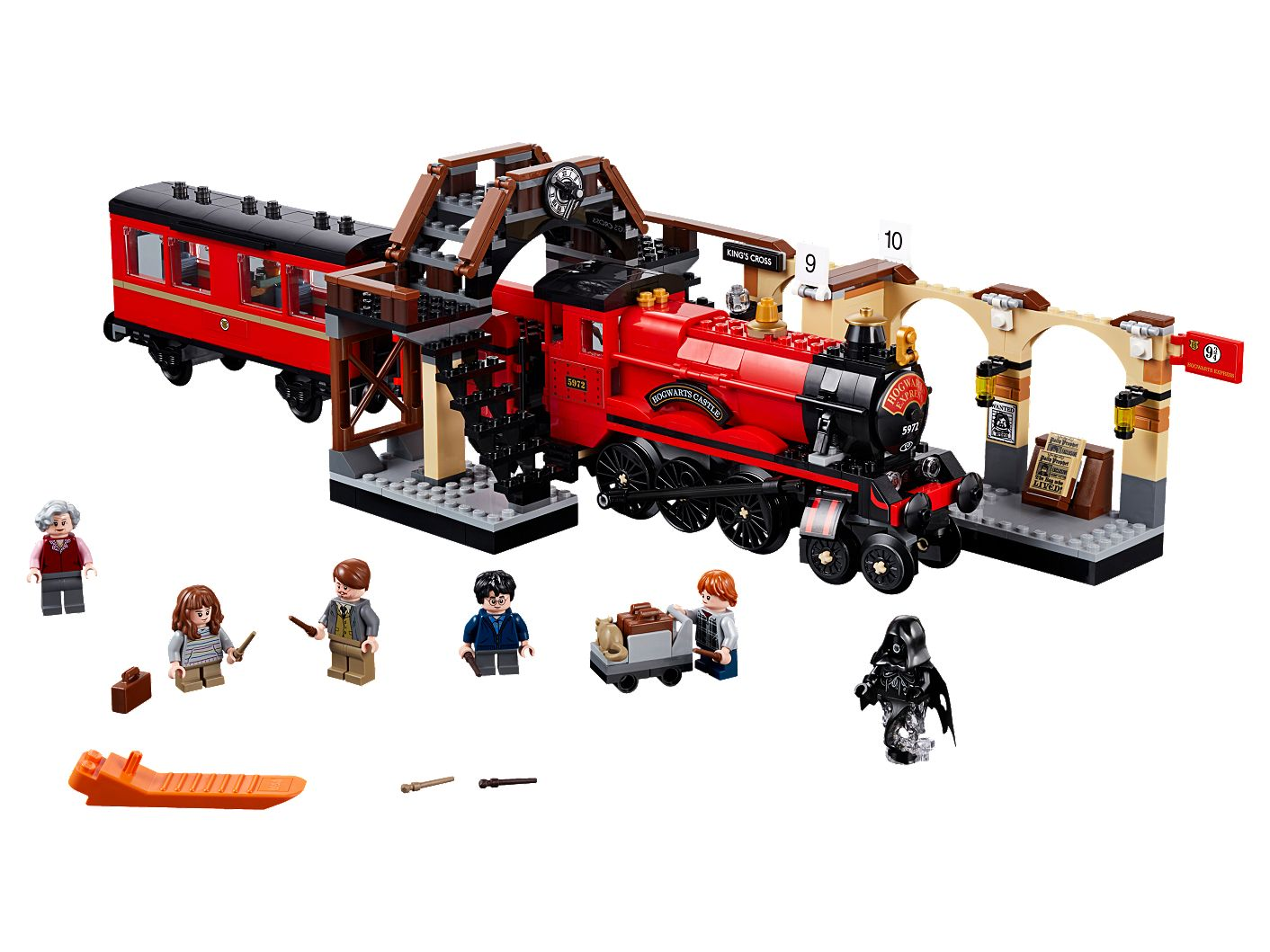 LEGO Harry Potter Hogwarts Express Platform only from 75955 FREE Signed Delivery