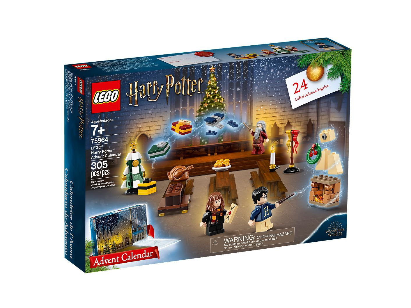 Harry Potter Advent Calendar.Lego Harry Potter Advent Calendar 75964 Harry Potter Buy Online At The Official Lego Shop Us