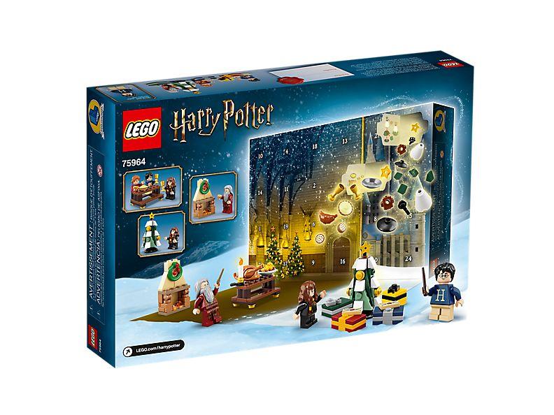 Calendrier De L Avent Spiderman.Calendrier De L Avent Lego Harry Potter 75964 Harry Potter Boutique Lego Officielle Fr