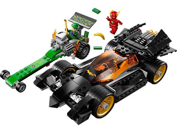 Explore product details and fan reviews for buildable toy Batman™: The Riddler Chase 76012 from Super Heroes DC. Buy today with The Official LEGO® Shop Guarantee.