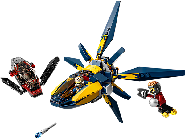 Explore product details and fan reviews for buildable toy Starblaster Showdown 76019 from Super Heroes Marvel. Buy today with The Official LEGO® Shop Guarantee.