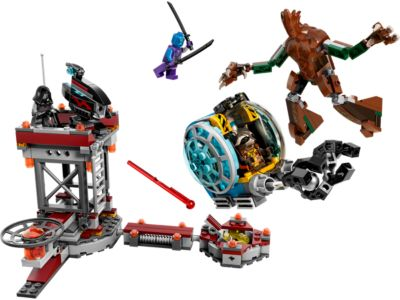 Explore product details and fan reviews for buildable toy Knowhere Escape Mission 76020 from Super Heroes Marvel. Buy today with The Official LEGO® Shop Guarantee.