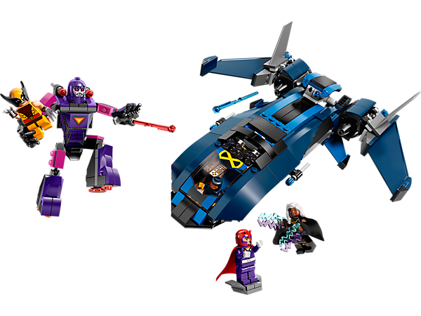 Explore product details and fan reviews for buildable toy X-Men vs. The Sentinel 76022 from Super Heroes Marvel. Buy today with The Official LEGO® Shop Guarantee.