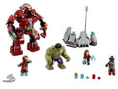 Le combat du Hulk Buster