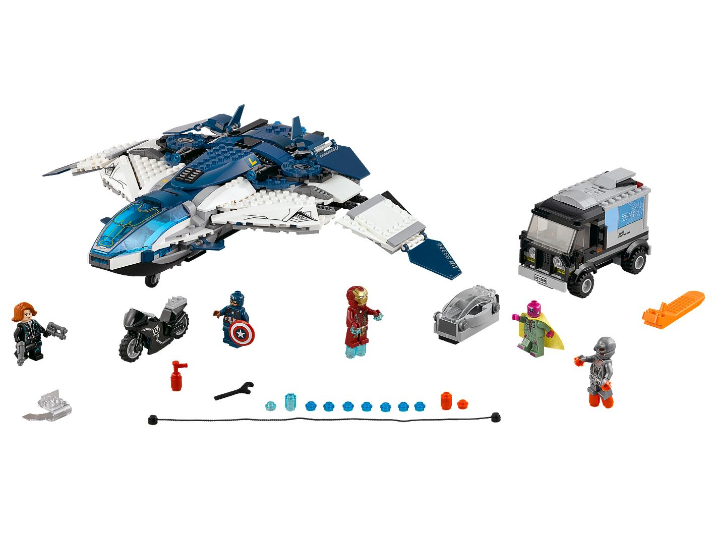 The Avengers Quinjet City Chase 76032 | LEGO® Marvel | Buy online at the Official LEGO® Shop US
