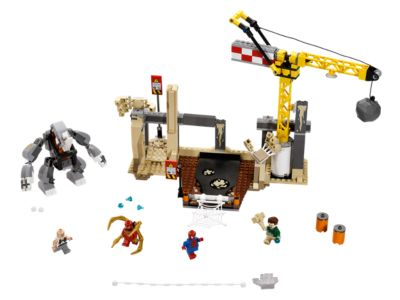 Rhino and Sandman Super Villain Team-up - 76037 | Marvel Super ...