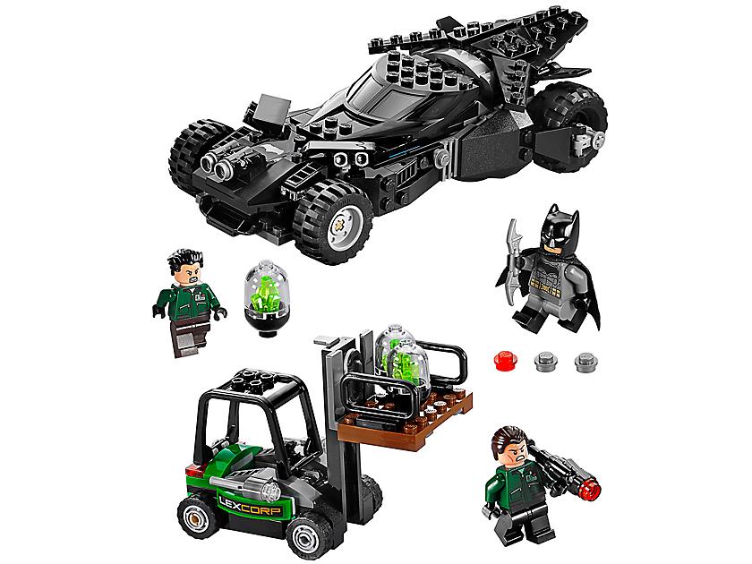 Kryptonit-Mission im Batmobil
