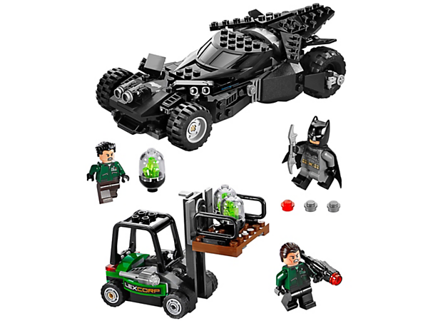 Explore product details and fan reviews for Kryptonite Interception 76045 from DC Comics™ Super Heroes. Buy today with The Official LEGO® Shop Guarantee.
