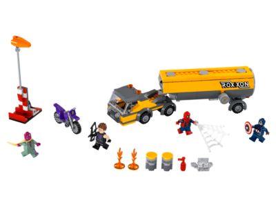Tanker Truck Takedown - 76067   Marvel Super Heroes   LEGO Shop
