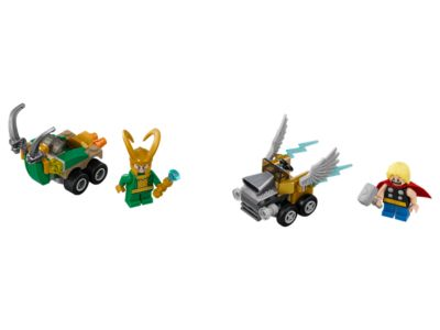 Mighty Micros: Thor vs. Loki - 76091 | Marvel Super Heroes | LEGO Shop