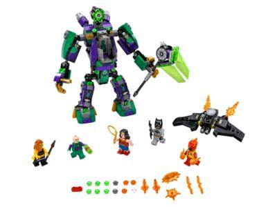 L'attaque en armure de Lex Luthor™