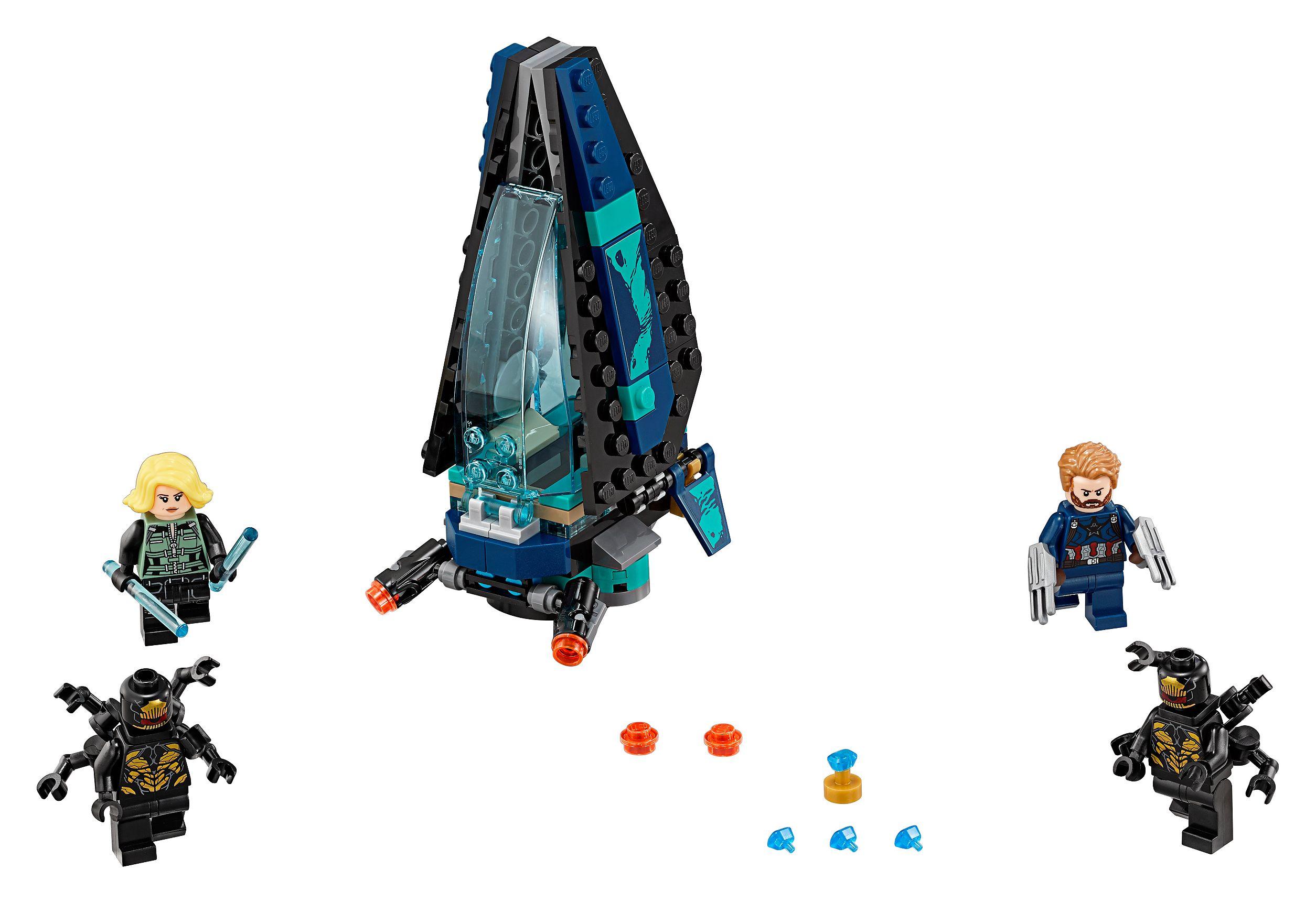 Atak Statku Outriderów 76101 Marvel Super Heroes Lego Shop