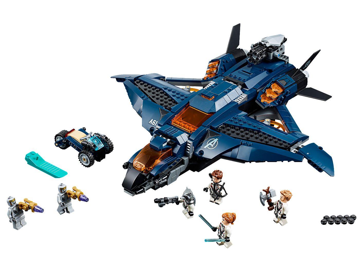 Des 76126Marvel Le Avengers Quinjet Lego Super Shop Heroes Ovw80mnN