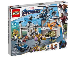 Avengers Compound Battle