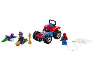 Spider-Man a naháňačka na autách
