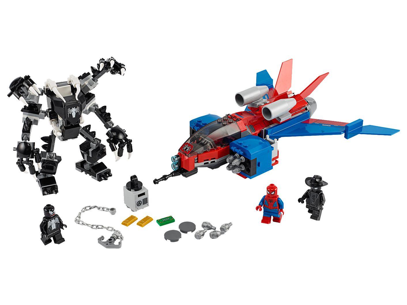 Spiderjet vs. Venom Mech 76150 | LEGO® Marvel | Buy online at the Official LEGO® Shop SE