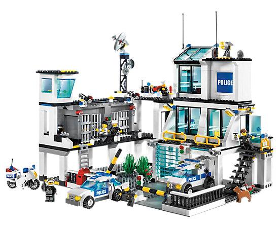 Police Headquarters 7744 Lego Shop