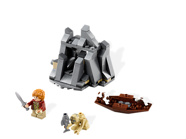 <p>Find the Ring with <i>Bilbo Baggins</i>™ inside<i> Gollum</i>'s rock and escape the <i>Misty Mountains</i> in a LEGO® <i>The Hobbit: An Unexpected Journey</i>™ set!</p>