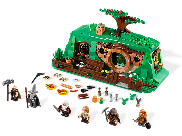 <p>Host Gandalf™ the Grey and 4 exclusive LEGO® <i>The Hobbit: An Unexpected Journey</i>™ Dwarves with accessories in the home of Bilbo Baggins!</p>