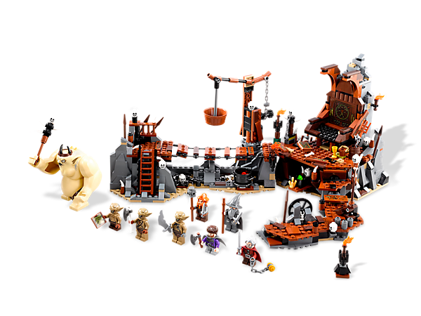<p>Defeat The <i>Goblin King</i> with <i>Gandalf™ the Grey</i>, 5 functions and 7 exclusive minifigures in a LEGO® <i>The Hobbit: An Unexpected Journey</i>™ set!</p>