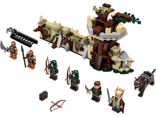 Explore product details and fan reviews for buildable toy Mirkwood™ Elf Army 79012 from The Hobbit™. Buy today with The Official LEGO® Shop Guarantee.