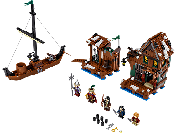 "Explore product details and fan reviews for buildable toy Lake-town Chase 79013 from The Hobbit<span style=""font-family: Calibri, sans-serif; font-size: 11pt;"">™</span>. Buy today with The Official LEGO® Shop Guarantee."