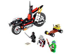 La moto Dragon de Shredder