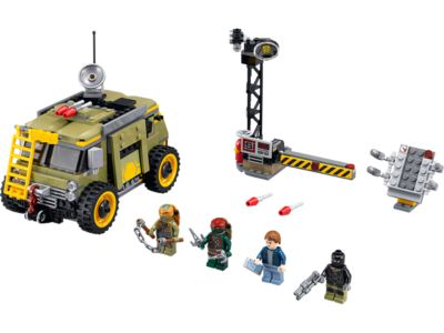 Explore product details and fan reviews for Turtle Van Takedown 79115 from Ninja Turtles TM. Buy today with The Official LEGO® Shop Guarantee.