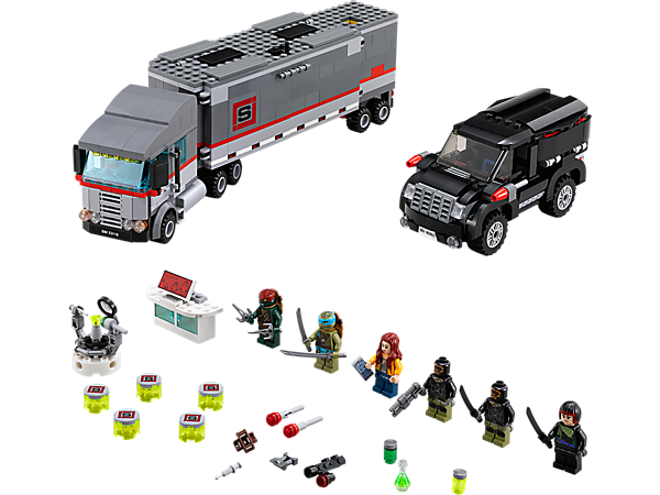 Explore product details and fan reviews for Big Rig Snow Getaway 79116 from Ninja Turtles TM. Buy today with The Official LEGO® Shop Guarantee.