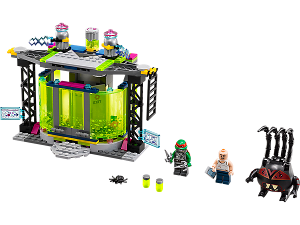 Explore product details and fan reviews for buildable toy Mutation Chamber Unleashed 79119 from Ninja Turtles TM. Buy today with The Official LEGO® Shop Guarantee.