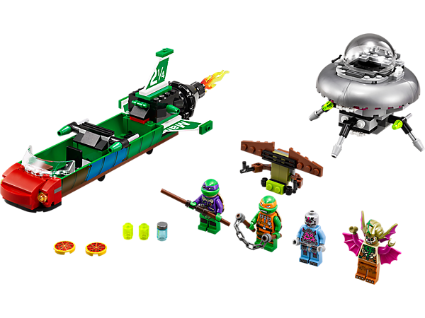 Explore product details and fan reviews for buildable toy T-Rawket Sky Strike 79120 from Ninja Turtles TM. Buy today with The Official LEGO® Shop Guarantee.