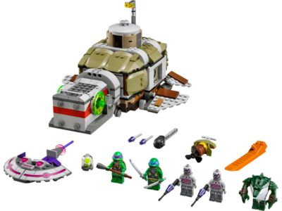 Explore product details and fan reviews for buildable toy Turtle Sub Undersea Chase 79121 from Ninja Turtles TM. Buy today with The Official LEGO® Shop Guarantee.
