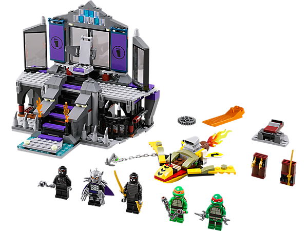 Explore product details and fan reviews for buildable toy Shredder's Lair Rescue 79122 from Ninja Turtles TM. Buy today with The Official LEGO® Shop Guarantee.