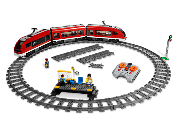 Climb aboard the high-speed passenger train to get on track for super-fast paced fun for up to 10 passengers!