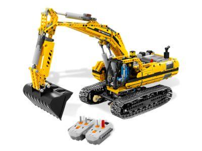 Motorized Excavator - 8043 | Technic | LEGO Shop