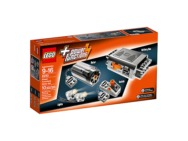 The LEGO® Power Functions Motor Set has everything you'll need to bring your LEGO Technic creations to life.