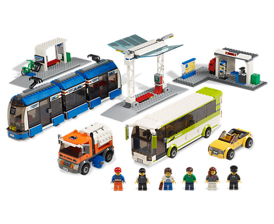 Public Transport Station 8404 Lego Shop