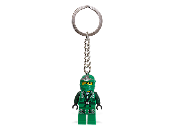 <p>Battle for the fate of Ninjago everywhere with an authentic LEGO® Ninjago Lloyd ZX minifigure attached to a sturdy metal ring and chain!</p>