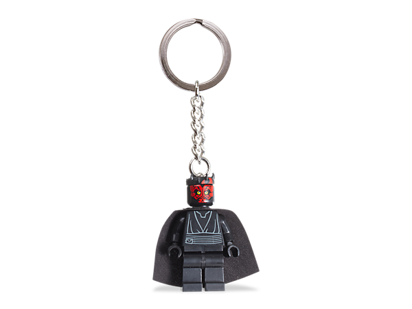 From the dark side to the driver's seat, use an authentic Darth Maul™ minifigure to bring the power of the Force to your travels!