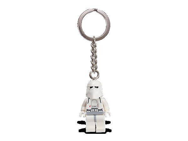 튼튼한 메탈 열쇠고리에 오리지널 스노우트루퍼 미니피겨를 달고, 제국의 가장 차가운 사령관과 어디든 함께 다니세요!