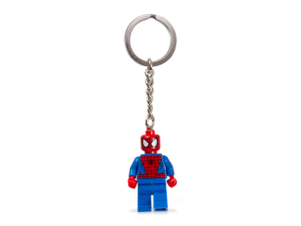 Take Spider-Man™ everywhere you go and carry the super-strength of an authentic LEGO® Marvel Super Heroes minifigure on your keys or backpack!
