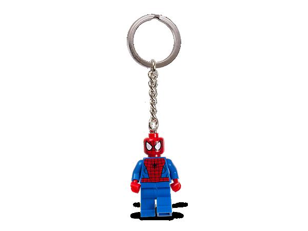 Nehmen Sie Spiderman™ mit auf all Ihre Reisen und lassen Sie eine authentische LEGO® Marvel Super Heroes Minifigur über Ihren Schlüssel oder Rucksack wachen!