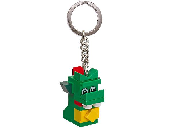 오리지널 브릭클리 열쇠고리를 가방에 달고 레고® 스토어의 바다괴물 마스코트 미니어처를 어디든 데리고 다니세요!