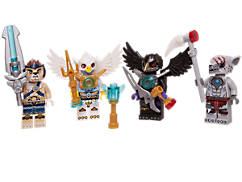 LEGO® Legends of Chima™ Minifiguren-Zubehör-Set