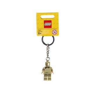 Keyring Minifigure Gold