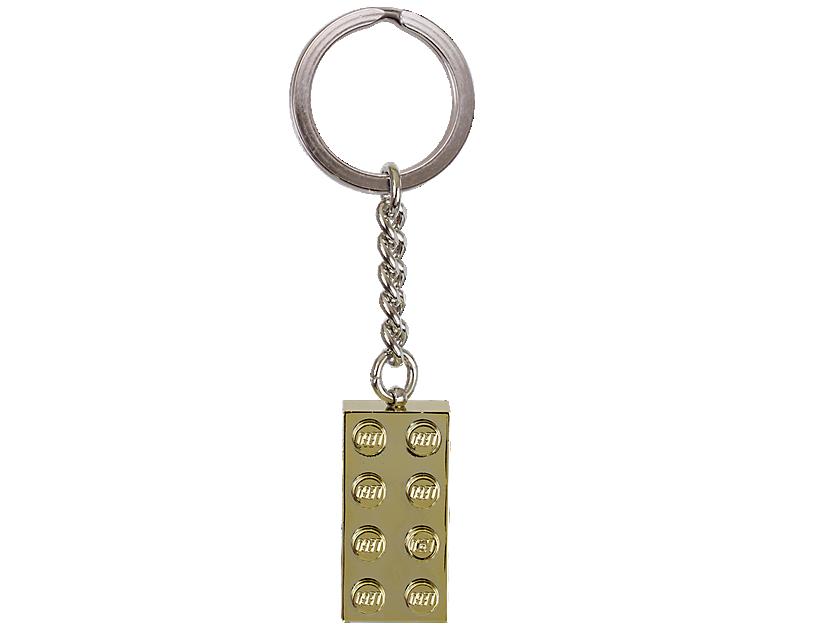 LEGO Gold Brick Keyring