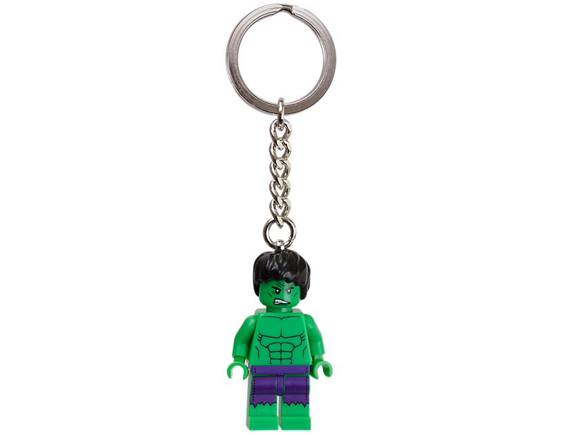 "LEGO Marvel Super Heroes The Hulk"" Keyring"