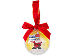 LEGO® Santa Holiday Bauble