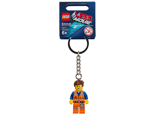 <p>Join the Master Builders with THE LEGO® MOVIE™ Emmet Key Chain featuring an authentic minifigure, metal ring, and chain.</p>